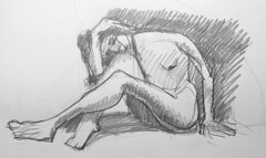 IMG_4600 (eltiodiego) Tags: modelo vivo desnudo femenino dibujo figura humana