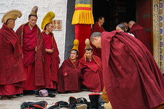 Monks in Xiahe - China (Sjak11) Tags: monks sony china xiahe instagram
