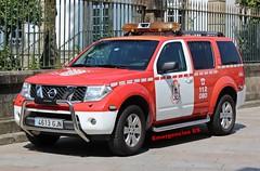 Bomberos Pontevedra (emergenciases) Tags: emergencias españa galicia vehículo coche 112 bomberos bomberospontevedra pontevedra nissan umj unidaddemandoyjefatura
