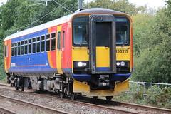 East Midlands 153319 @ Alsager (uksean13) Tags: 153319 eastmidlandstrains alsager diesel train transport railway rail canon 760d ef28135mmf3556isusm