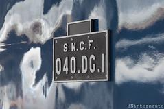 Son nom de code : 040.DG.1 (Un Ninternaute) Tags: paris pe parisgaredelest oldtrain oldschool sncf idf speciaux transspécial train histoire historique bb66000 bb66001 040dg