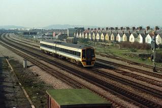 158820, Cardiff Canton, March 13th 1993