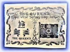 The Queen's ( Royal West Surrey Regiment) -2nd Foot.. Postcard (John(cardwellpix)) Tags: saturday 15th september 2018 the queens royal west surrey 4912 regiment 2nd foot acommunityeventcommemoratingthe100thanniversaryoftheendofthefirstworldwar ~oncethehomeofthequeensroyalwestsurreyregimentcardwellskeep stoughtonguildford