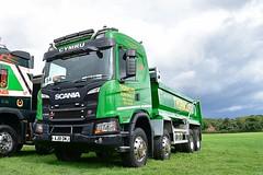 AJ18 DMJ (Martin's Online Photography) Tags: scania g450 nextgeneration tipper truck wagon lorry vehicle freight haulage commercial transport truckfest cheshire nikon nikond7200