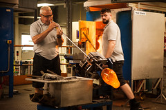 South East Ireland - June 2018 (Harkins Photography London) Tags: ireland waterford crystal glass blowing industry machine