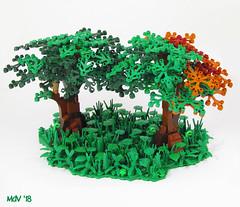 Tree_005 (Margaretha de Vos) Tags: lego tree legotree afol legofan owl legolands legolandscape green legomoc moc