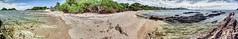 Goat Island 360% (taszee63) Tags: tasmania panorama hdr 3xp goatisland bassstrait water waves beach sand shore
