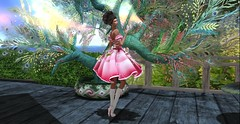 irrISIStible Charlotte la Bouff outfit (sequaneresident1) Tags: irrisistible enchantment event shop fantasy princess frog maitreya belleza slink hourglass ball gown pink headpiece jewels jewelry rich women sl secondlife second life clothes fashion costume fancy movie