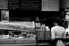 _DSC9335 (stephenjenkins25) Tags: black white street photography candid people portrait market stall food seller
