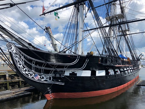 USS Constitution, Boston MA.  Nicknamed 'Old Ironsides'