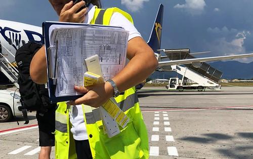 Ryanair in Bergamo - Support
