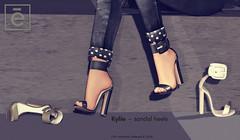 Ohemo - Kylie sandal heels ad (>Ale<) Tags: kylie aleidarhode shoe heel footwear new mesh originalcontentcreator release event fameshed meshes 3d highheel sandals women female femme feminine autumn colors leather shiny