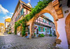 Riquewihr, France - 2 (Dhina A) Tags: sony a7rii ilce7rm2 a7r2 a7r variotessar t fe 1635mm f4 za oss sonyfe1635mmf4 sel1635z tour holiday trip favorite french magical medieval beautiful village france riquewihr alsace architecture alsatian