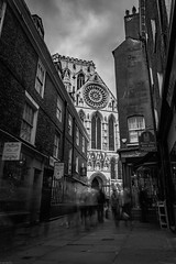 York Minster Ghosts (1 of 1) (JonMercer1979) Tags: york england unitedkingdom gb ghosts church cathedral minster bw blackwhite