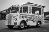 Morris - Ice Cream van (1953) (deltic17) Tags: morris morrisvan 1953 old van ice icecream classic vintage blackwhite monochrome historic chesterfield bawtry pto842 canon jonesco southyorkshire