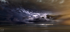 Lightninstorm August 2018 (MSB.Photography) Tags: burriana grao castellon sony a7iii a7m3 ilce7m3 thunderstorm lightning lightningstorm rayos thunderbolt tormenta nubes clouds paisaje nighscape largaexposicion largeexposure sonya7iii samyang samyung12mm beach playa cielo storm