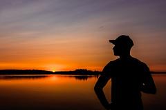 the sunset time (VisitLakeland) Tags: finland kuopio summer auringonlasku backlight evening ferry järvi kesä lake lautta lossi luonto maisema nature outdoor scenery sun sunset vastavalo water
