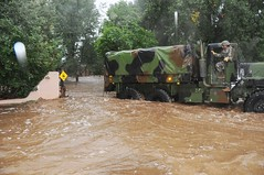 Colorado National Guardsmen respond to floods in Boulder County, Colo., Sept.12, 2013.   (Army National Guard Photo by Sgt. Joseph K. VonNida/RELEASED)