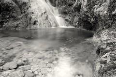 Waterfall (Stefano Rugolo) Tags: stefanorugolo pentax k5 pentaxk5 smcpentaxda1855mmf3556alwr longexposure water waterfall monochrome italy lazio archive 2016 landscape rock river