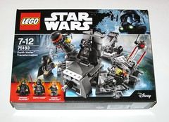 lego 75183 star wars darth vader transformation rogue 1 packaging 2017 misb a (tjparkside) Tags: lego 75183 star wars darth vader transformation rogue 1 packaging 2017 misb minifigure minifigures mini fig figure figures build building block blocks episode 3 iii three rots revenge sith dd13 medical droid droids assistant fx6 palpatine emperor prowler 1000 exploration empire 282 pc anakin skywalker burnt cape operation operating table lightsaber lightsabers