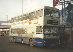 2008 (WA) BOK 8V (WMT2944) Tags: 2008 bok 8v mcw metrobus mk2 wmpte west midlands travel