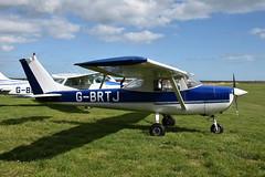 G-BRTJ Cessna 150 (eigjb) Tags: gbrtj c150 cessna150 cessna light aircraft airplane plane spotting einc newcastle airfield wicklow ireland aviation