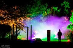 Parknächte (Tom.T.Bone) Tags: parknächte schloss dyck lichtfestival 2018 canon eos 700d 50mm stm f18 iso100 licht lichter bunt lights colorful