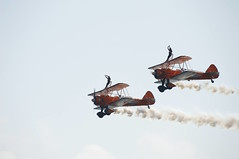 Bournemouth Airshow 2018 - 65 (D.Ski) Tags: wingwalkers flyingcircus bournemouth airshow bournemouthairshow bournemouthairfestival 2018 airplane aircraft planes display flying england southcoast uk nikon d700 nikond700 200500mm