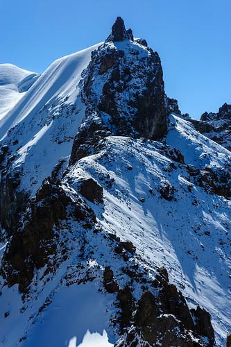 Western RIdge of the Geroev Panfilovtsev Peak ©  deletio