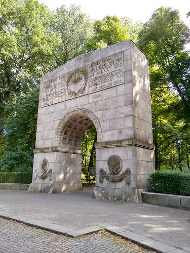 Portal Soviet War Memorial at Treptower Park