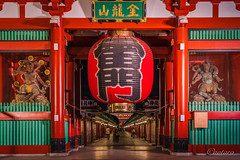 Asakusa, Japan (aotaro) Tags: ilce7m3 asakusa sensojitemple fe424105goss tokyo architecture japan sensoji entrancegate temple japanesetradition kaminarimon