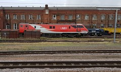 """LNER 91128 """"Intercity 50"""" at Doncaster Works. (ManOfYorkshire) Tags: electric loco locomotive engine 91128 class91 intercity50 named doncaster works transfer siding lnew"""