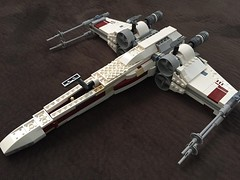 Red Three (njgiants73) Tags: lego star wars xwing red three four five leader two six biggs darklighter yavin battle new hope episode iv
