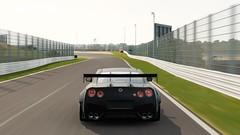 Nissan GT-R Black Edition (polyneutron) Tags: photography nissan gtr black motion suzuka automotive sky forza