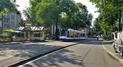Nieuw op Nieuwezijds (Peter ( phonepics only) Eijkman) Tags: amsterdam city combino gvb tram transport trams tramtracks trolley rail rails strassenbahn streetcars nederland netherlands nederlandse noordholland holland