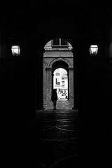 IMG_4858 (tomcren123) Tags: contrast street people movement bikes bike shadow city dark arch g