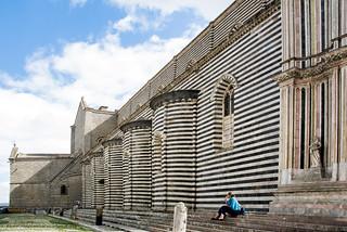 Un gelato all'ombra del Duomo...