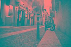 verona (paolopalmaflick) Tags: verona city vespa italy veneto blackandwhite street road town