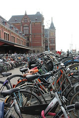 Centraal Station (CAYphotos) Tags: amsterdam holland thenetherlands canals centraalstation bikes bicycles
