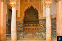 Saadien Tombs (Ibrahim D Photography) Tags: saadientombs marrakech morocco touristattraction tourist vacation holiday tomb royaltombs lemaroc maroc travel travelphoto