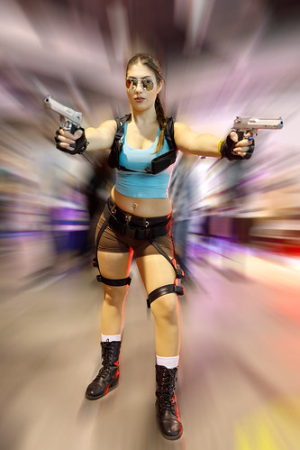 Cosplay@Zurich Game Show - Lara Croft