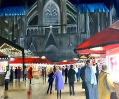 Cologne Christmas Market (William Yipp) Tags: imagesofharmony christmasmarket cologne rhine germany urbanscene crowd