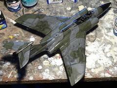 "1:72 Blackburn B.87 ""Barghest"" F(AW).3; ""WZ507/A"" of the Royal Air Force 19 Squadron; Leconfield, Yorkshire (Great Britain), summer 1959 (Whif/Kitbashing) - WiP (dizzyfugu) Tags: 172 blackburn barghest buccaneer hawker hunter gloster javelin cf100 canuck fifties raf centenary whif whatif fictional aviation kitbash modellbau dizzyfugu royal air force 19 squadron allweather fighter sapphire firestreak"