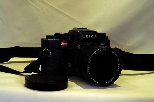 Leica R4 mit Macro-Elmarit-R 2.8/60