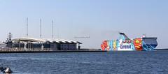 Cagliari (CarloAlessioCozzolino) Tags: cagliari sardegna sardinia mare sea porto harbour nave ship tirrenia terminalcrociere