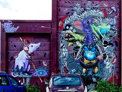 Graffiti 2018 in Wiesbaden (pharoahsax) Tags: orte deutschland graffiti kunst objekte wiesbaden hessen germany de