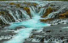 Brúarfoss (Doreen Bequary) Tags: glacierwater nikon2470mm28 leefilters longexposure brúarfoss iceland d850 waterfall bluewater