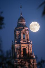 Tower of Dreams (ihikesandiego) Tags: san diego nights full moon balboa park california tower