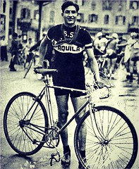 1934 BARTALI The New Italian God (Sallanches 1964) Tags: italiancyclists giroditalia ginobartali campionissimo tourdefrancewinners