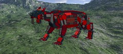 N980NGB0xSmilodonxMech1 (demitriusgaouette9991) Tags: lego military army future ldd armored deadly powerful runner mecha